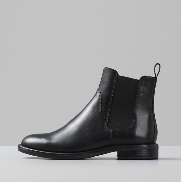 Amina Chelsea Boot Black Leather 11